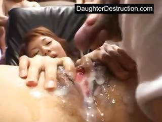 Young girl monsterfucked..
