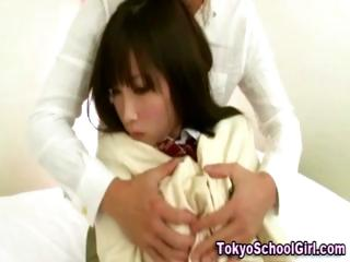 Japanese asian schoolgirl..